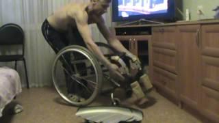 видео Кресло-коляска инвалидное активное Vermeiren Sagitta