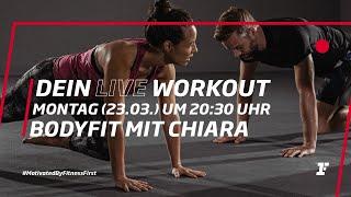 Fitness First Live Workout - BodyFit mit Chiara