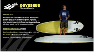 2016 Naish Odysseus | All around Cruising SUP Board