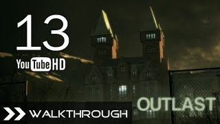 Outlast Walkthrough - Gameplay Part 13 (Female Ward - 3 Fuses & Camcorder Location) HD 1080p PC PS4