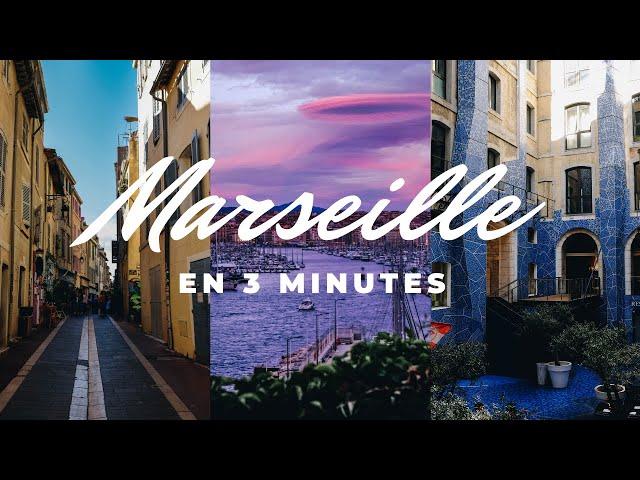 [GOPRO] VISITER MARSEILLE EN 3 MINUTES [VLOG]