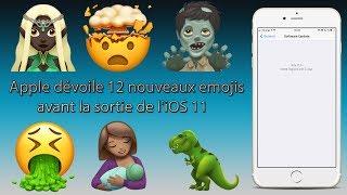 Apple dévoile 12 nouveaux emojis avant la sortie de l'iOS11