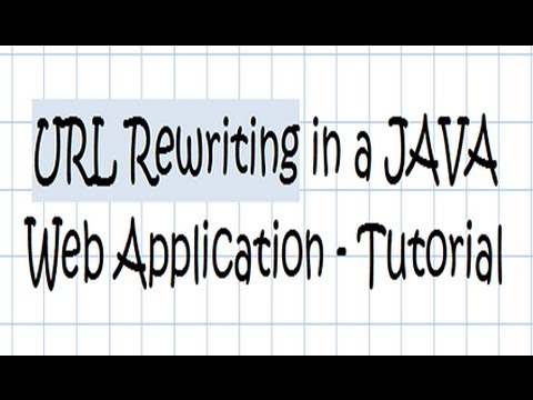 URL Rewriting in a JAVA Web Application - Tutorial