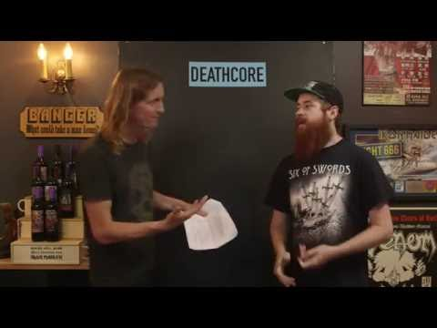 LOCK HORNS   DEATHCORE band debate with Bradley Zorgdrager (live stream archive)
