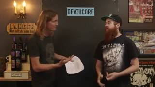 DEATHCORE Essential bands debate with Bradley Zorgdrager | LOCK HORNS (live stream archive)