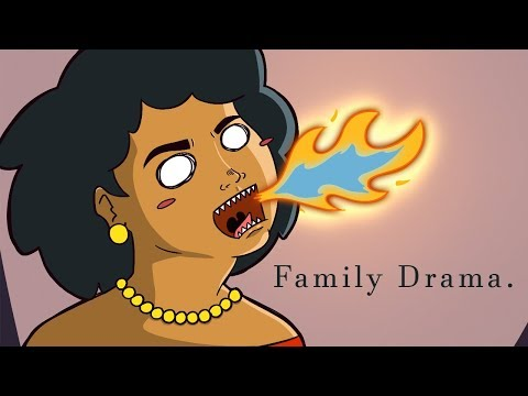 When you got Beef with Family - animation
