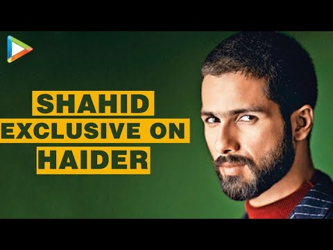 Haider: Shahid Kapoor Exclusive FULL Interview