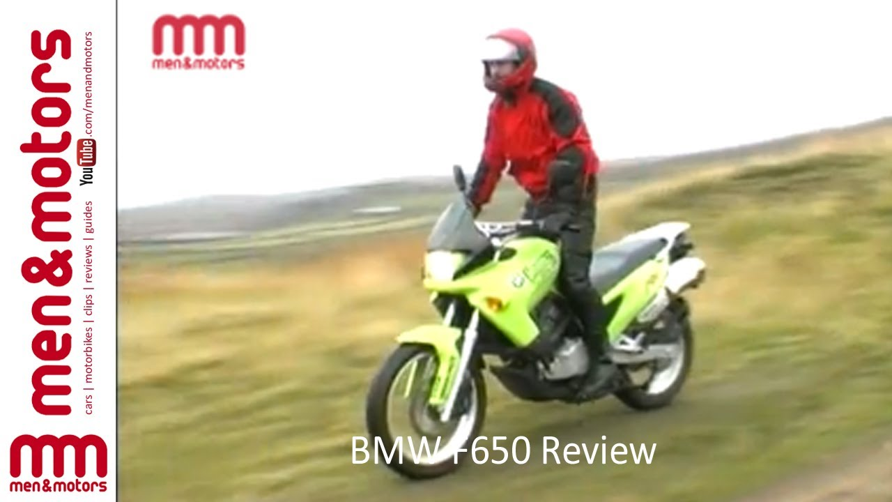 Bmw F650 Review 1997 Youtube