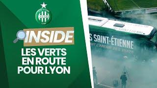 VIDEO: Les Verts en route pour Lyon