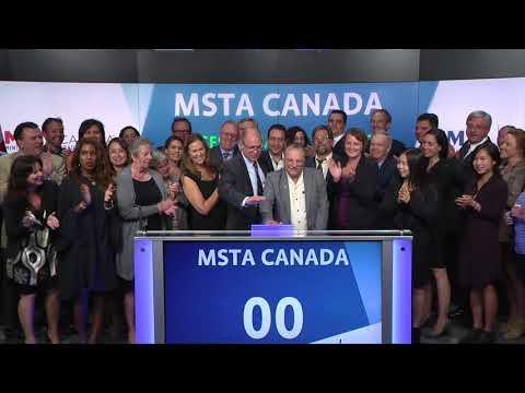 MSTA Canada Closes Toronto Stock Market, September 14, 2017