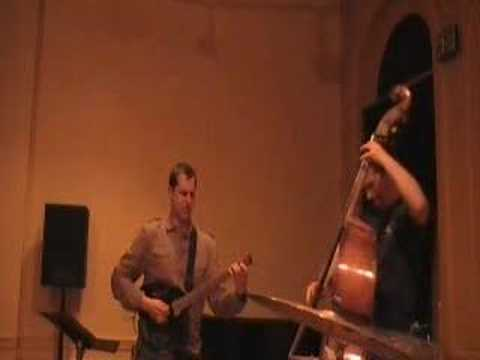 Tim Miller Trio playing rhythm changes in Baltimore