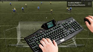 Como tapar penaltis en FIFA 13 y FIFA 12 con el teclado HD