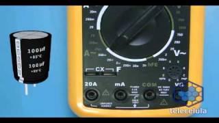 Teste do Capacitor Eletrolítico - Como usar o Capacímetro, como testar capacitor Parte II