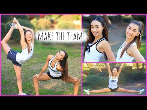 How To Make The Cheer / Dance Team!