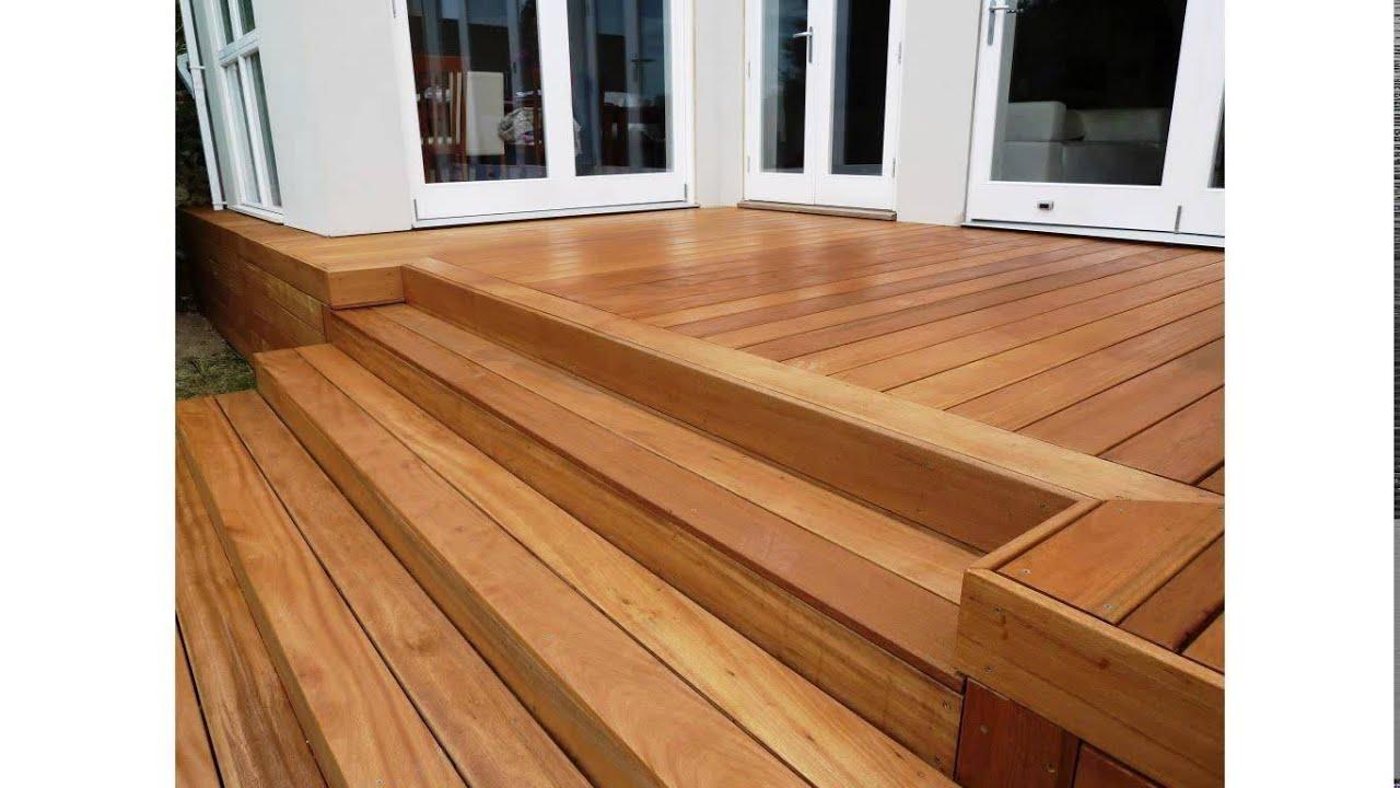Yellow Hardwood Boards ~ Balau hardwood decking youtube