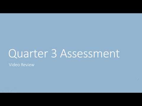QA 3 Review 2017 2018