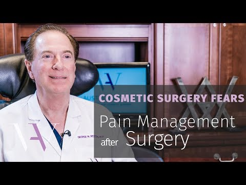 Fear of Pain: Managing Pain After Cosmetic Surgery