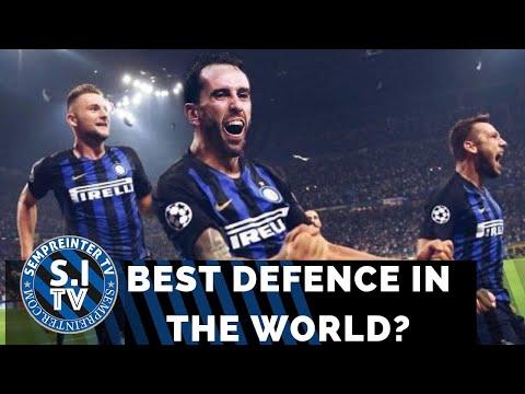 Europe's Most Feared Defence 2019/20   Skriniar, De Vrij, Godin & Handanovic