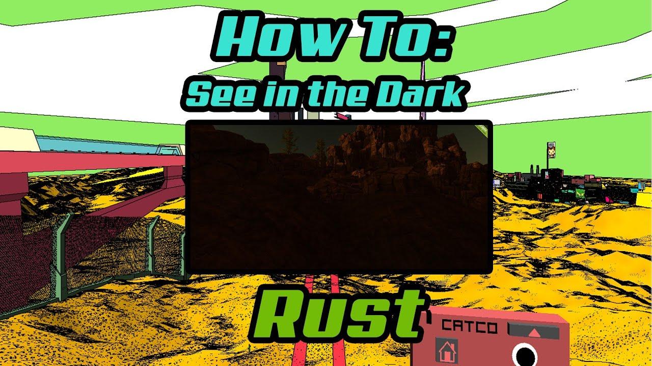 Rust glitches - Home