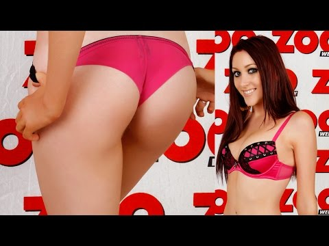 Ashley Adams only needs duct tape to dress | ZOO Blondes from YouTube · Duration:  45 seconds