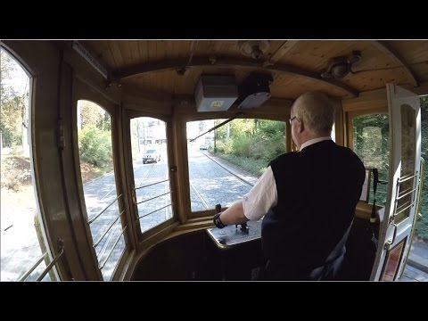 Prague retro tram ride - Line 91 / Praha retro tramvaje (HD)