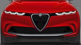 ALFA ROMEO TONALE - Next-Gen Alfa SUV - Awesome Design!