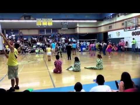 Center High School Sports-O-Rama senior skit