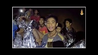 Gambar cover Tajlandia. Akcja ratunkowa w jaskini. S� przecieki na temat stanu zdrowia ch�opc�w