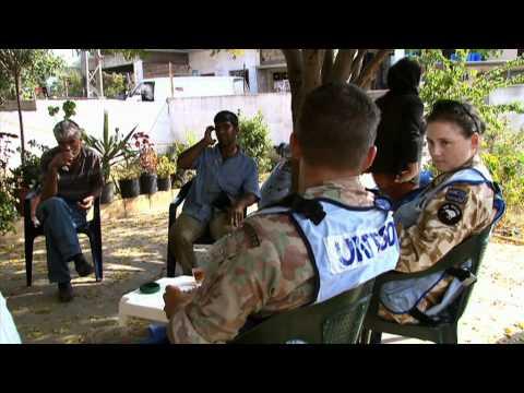 Swiss military observers in Lebanon