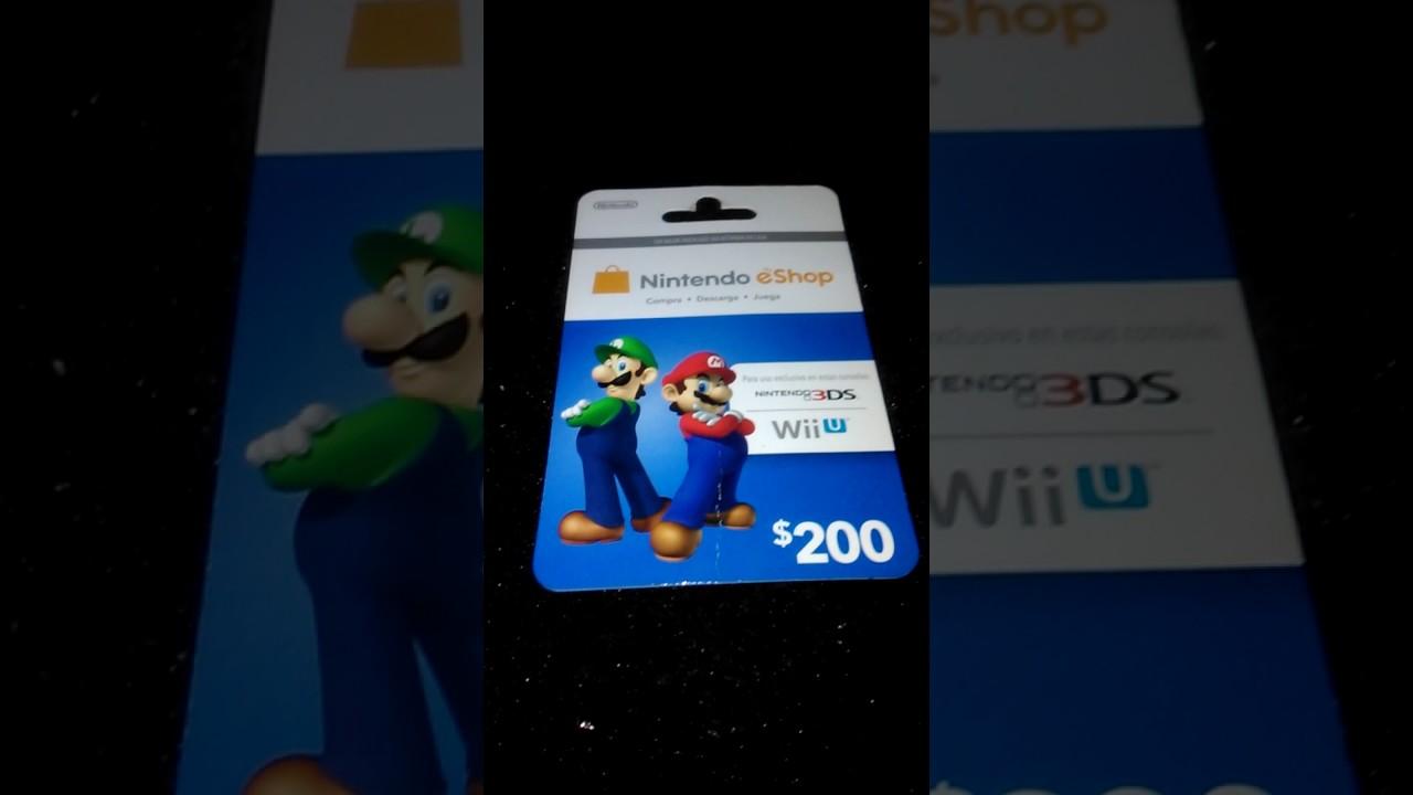 Regalando Codigos De Nintendo Eshop Wii U 3ds Youtube