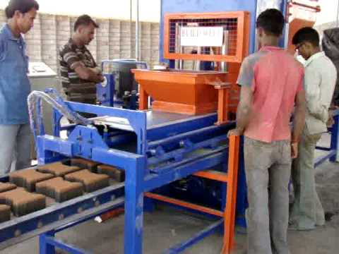 Buildwell Paver Making Automatic Machine Quot Bw 119 Quot Youtube