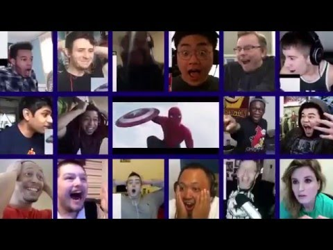 Download Internet's Reaction When They Saw Spiderman In Civil War Trailer