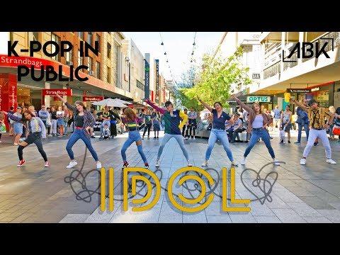 [K-POP IN PUBLIC] BTS (방탄소년단) - IDOL (아이돌) Dance Cover by ABK Crew from Australia #IDOLChallenge