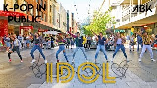 [K-POP IN PUBLIC] BTS (방탄소년단) - IDOL (아이돌) Dance Cover by ABK Crew from Australia #IDOLChallenge