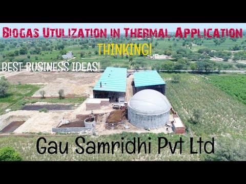 MODERN TECHNOLOGY OF BIOGAS UTILIZATION TO THERMAL APPLICATION