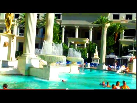 Caesar's Palace Pools - Best Pools in Vegas Series