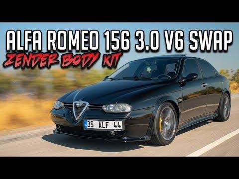 Alfa Romeo 156 3.0 V6 Swap 220 HP Ile Gazladık / Zender Body Kit / Yavru GTA