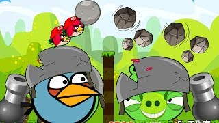 Angry Birds Cannon Collection 1 - FORCE ALL STONE BACK TO BLAST BAD PIGS!