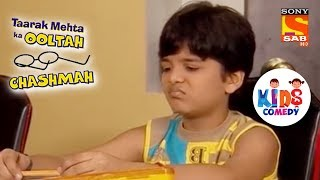 Tapu Is Tired Of Finishing His Homework | Tapu Sena Special | Taarak Mehta Ka Ooltah Chashmah