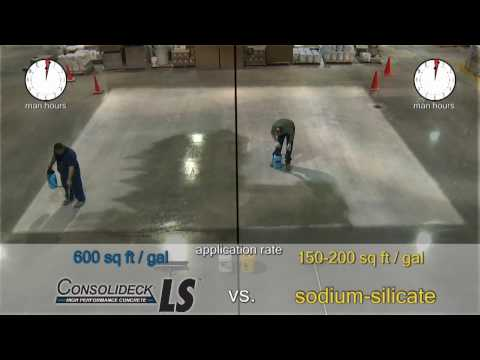 Silicate Showdown Vs. Consolideck® LS® (lithium Silicate)