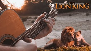 Cover images Can You Feel The Love Tonight (The Lion King 2019) // Fingerstyle Guitar Cover