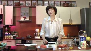 Любимые рецепты. Закуска из помидоров с чесноком.