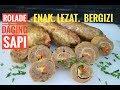 rolade daging sapi // resep rolade daging sapi , enak , mudah , dan sehat serta bergizi