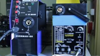 Сравнение инверторного полуавтомата с трансформаторным