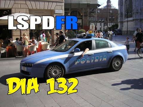LSPDFR | Día 132 | Policia de italia