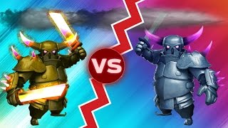Ataque Random #12 / P.E.K.K.A. VS P.E.K.K.A. / Clash Of Clans / COC
