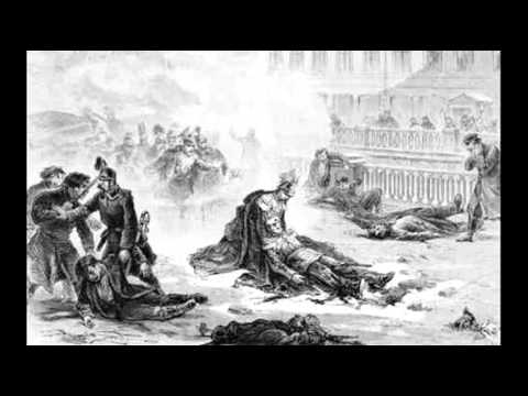 13th March 1881: Tsar Alexander II assassinated Saint Petersburg