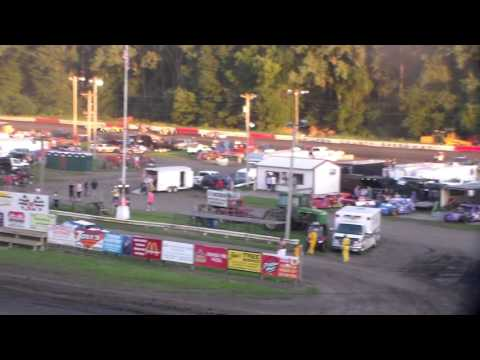 Hobby Stock Dash For Cash @ Hamilton County Speedway 07/30/16