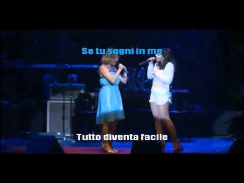 Marcela Morelo y Corinne Vigo - En mi azul (nel mio blu) (Karaoke)