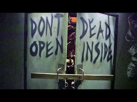 The Walking Dead at Universal Studios Hollywood walkthrough excerpts